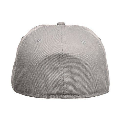 New Era Blank 59Fifty Fitted Hat (Gray) 7 3/4