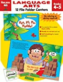 File Folder Centers Language Arts, The Mailbox Books Staff, 1562346369