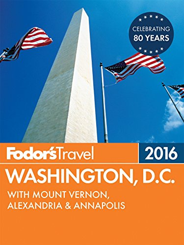 Fodor's Washington, D.C. 2016: with Mount Vernon, Alexandria & Annapolis (Full-color Travel - Mall Potomac Map