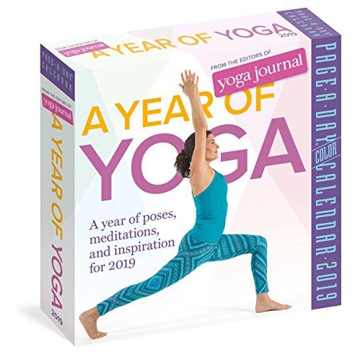 Tiger 2018 Calendar - A Year of Yoga Page-A-Day Calendar 2019