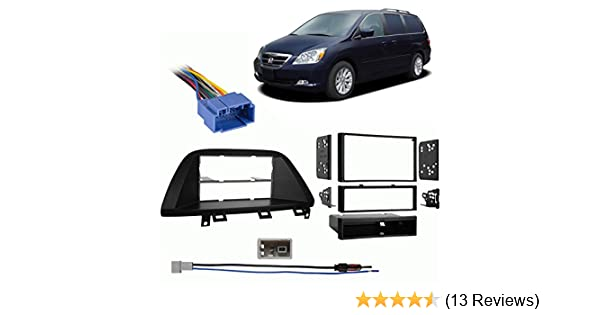 Amazon.com: Fits Honda Odyssey 2005-2007 Multi DIN Stereo Harness Radio Install Dash Kit: Car Electronics