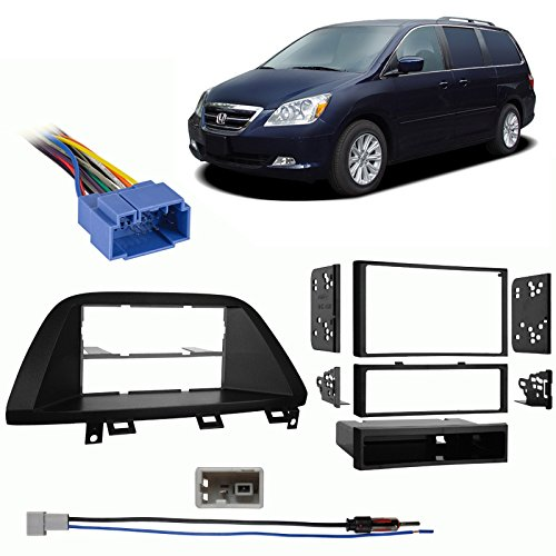 Honda Odyssey 2005-2010 Multi DIN Stereo Harness Radio Install Dash Kit Package -