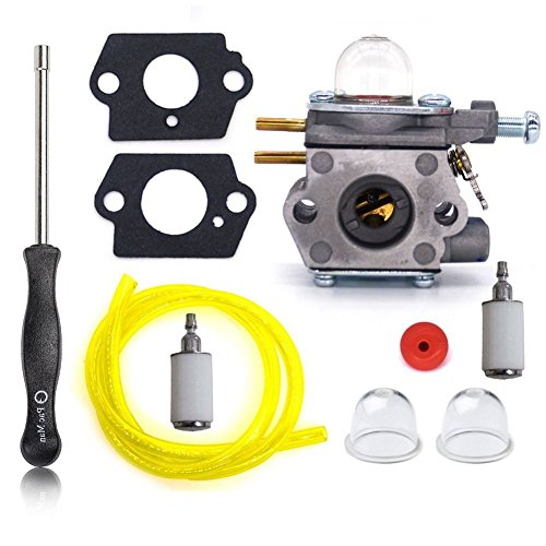 Tri-Better 753-06190 Carburetor with Adjustment Tool Turn up Kit for Walbro WT-973 Troy-bilt TB21EC TB22EC TB32EC TB42BC TB80EC TB2040XP Carb by Tri-Better