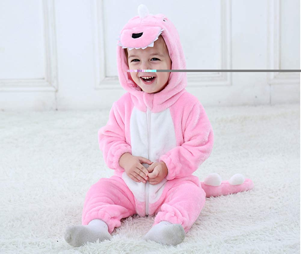 Tonwhar Inflant and Toddler Animal Onesie Cosplay Costume Baby Romper Jumpsuit