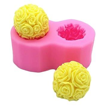 Lembeauty - Molde de Silicona con Forma de búho en 3D, Hecho a Mano, para jabón, pudín, ...