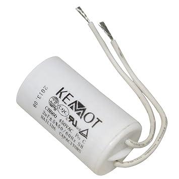 Start Motor Kondensator 2/µF 450V Startkondensator Aerzetix