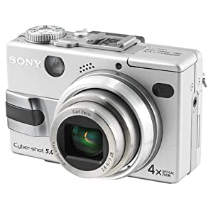 Sony DSC-V1 Cyber-shot 5MP Digital Camera w/ 4x Optical Zoom