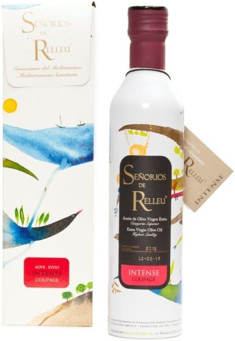 Estuche Regalo de Aceite de Oliva Virgen Extra Gourmet Sabor Intenso Coupage 500 ml.: Amazon.es: Alimentación y bebidas
