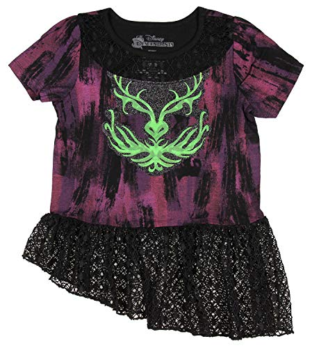 Disney's Descendants Fantasy Girls Dress (Medium, 7/8) -