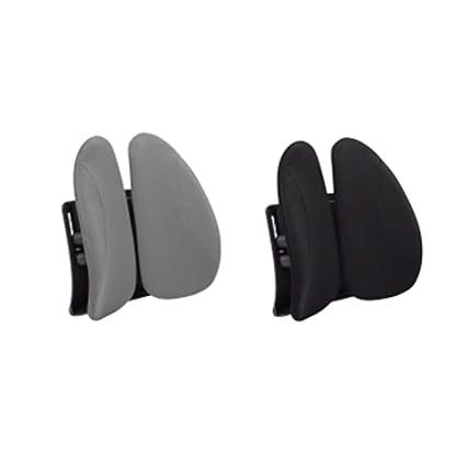Urbo cojín de respaldo lumbar ergonómico con ajuste de altura para cualquier asiento y silla, alas móviles que se adaptan a tus cambios y movimientos ...