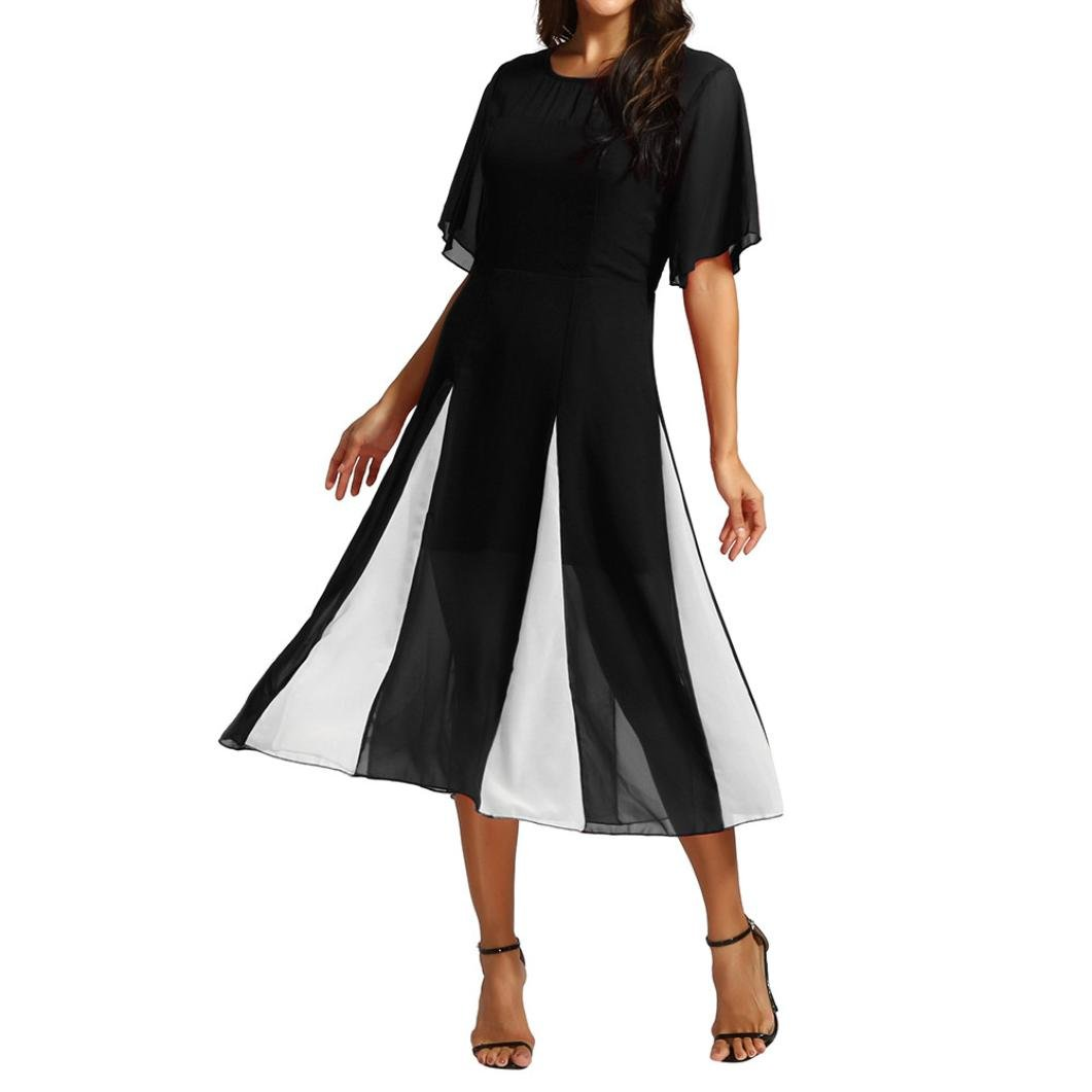 fcdde76f85a About the product ☆Material  Polyester--Women s Sexy Ladies Deep V Neck  Party Dress Maxi Long Evening Dress Women Off Shoulder Sleeve High Low  Skater Dress ...