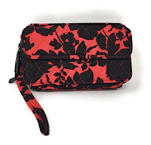 For In Vera All Bradley 6 Womens Crossbody Bleack One iPhone Red WwBBRxCgn