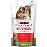 Purina Pro Plan Cat Snacks, Natural Protein Crunch With Lamb, 2.1-Ounce Pouch, Pack of 10