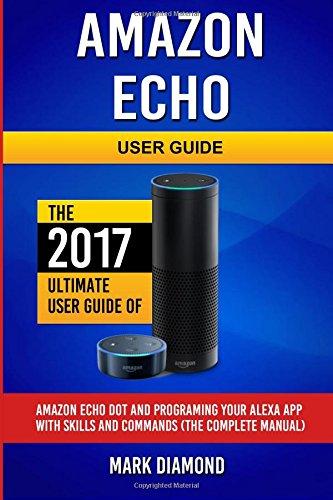 Amazon Echo User Guide Programing product image