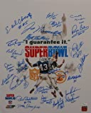 1969 New York Jets Autographed 16x20 White Super Bowl Photo- W Authenticated - JSA Certified - Autographed NFL Photos