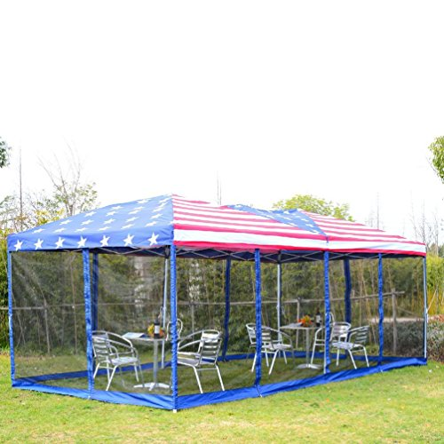 Outsunny 10 x 20ft Pop-Up Tent Party Canopy Gazebo Patio USA