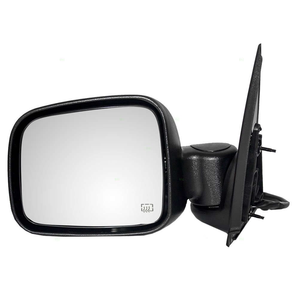 Drivers Power Side View Mirror Heated Textured Replacement for Jeep SUV 55155843AI AUTOANDART