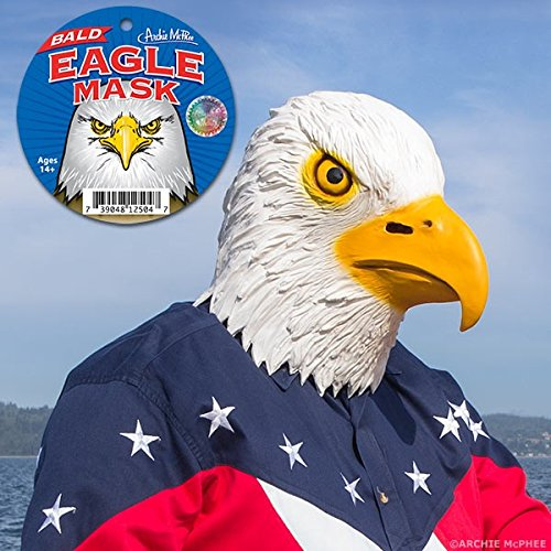 Accoutrements 12504 Bald Eagle Mask
