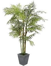 artplants.de Palmera Areca Artificial con Bonitos Troncos, 280cm - Planta Artificial - árbol Decorativo