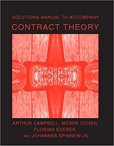Amazon solutions manual to accompany contract theory the mit amazon solutions manual to accompany contract theory the mit press ebook arthur campbell moshe cohen florian ederer johannes spinnewijn kindle fandeluxe Images