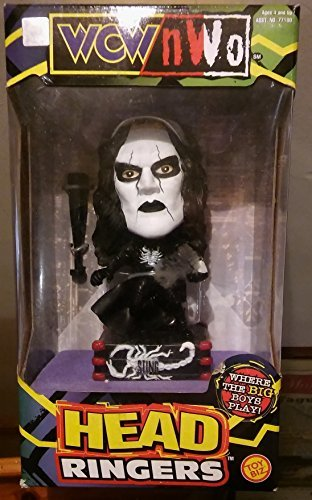 WCW/NWO Head Ringers Sting by Toy Biz (Sting Action Figure Wcw Nwo)