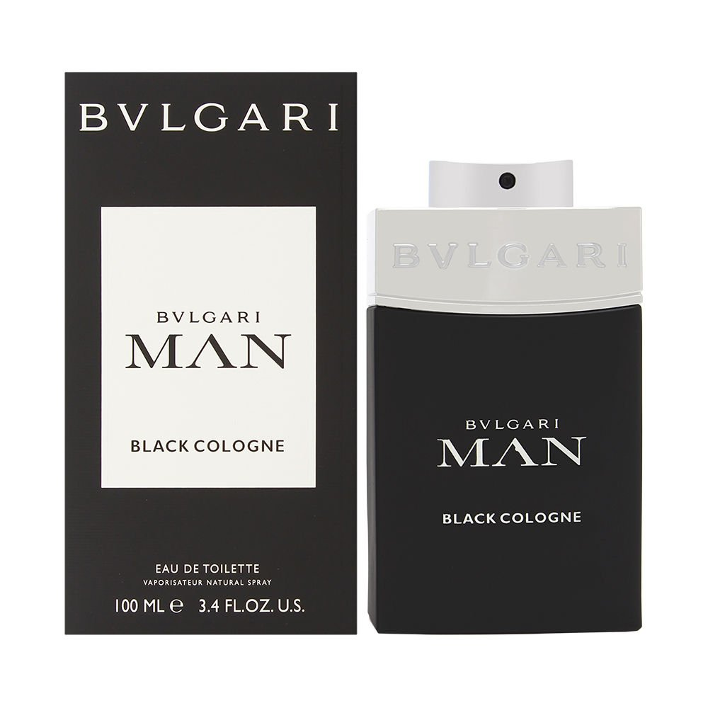 Bvlgari Man Black Cologne 3.4 oz Eau de Toilette Spray