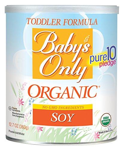 Organic soy formula