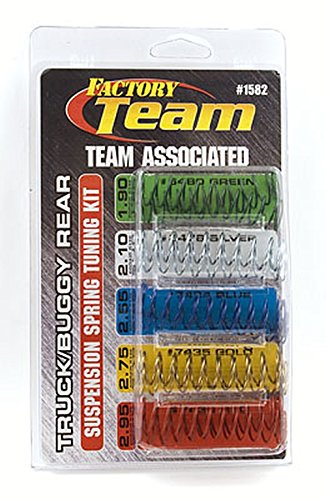 Team Associated 1582 Truck/Buggy Rear Suspension Spring Tuning (Associated Ft Shock)