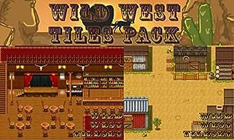 amazoncom rpg maker vx ace dlc wild west tiles pack