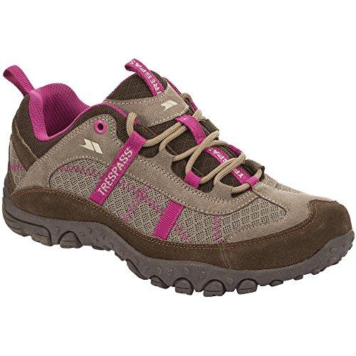 Trespass - Zapatilla de montaña / Caminar Ligeras Modelo Fell Mujer Acero