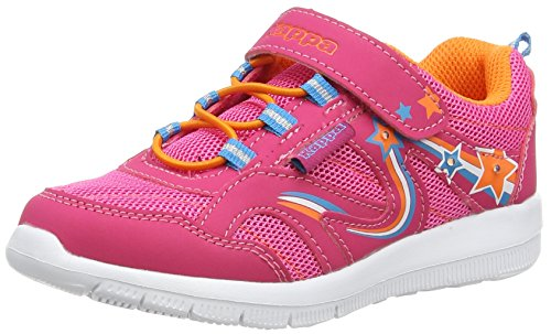 Kappa Unisex-Kinder Cosmic Kids Low-Top Pink (2244 PINK/ORANGE)