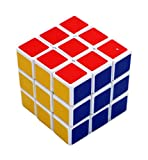 Magic Cube - set of 4 puzzle twists; easy rotating and smooth play multiple colored puzzles for 6+ kids with soft edges