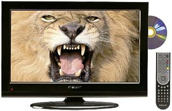 Nevir NVR-7502-19HDD-N - Televisión LED con lector DVD lateral, pantalla de 19 pulgadas, Dolby digital plus, color negro: Amazon.es: Electrónica