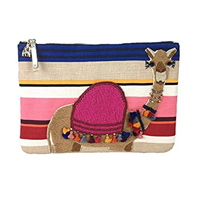 Kate Spade Spice Things Up Embroidered Camel Clutch, Multi