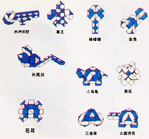 Kalamei 60 Rubik's Snake Rubik's Twist