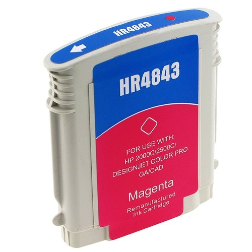 10 C4843a Magenta Ink Cartridge (For HP 10 C4843A Compatible Remanufactured Magenta Ink Cartridge)