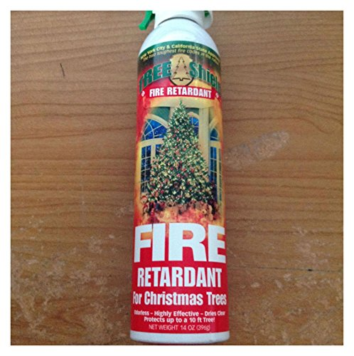 2 CANS FIRE RETARDANT SPRAY FOR CHRISTMAS TREES BRAND NEW Top Selling from Unknown