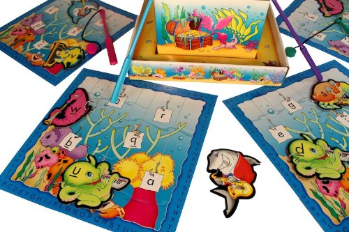 A B SEAS® Alphabet Fishing Game