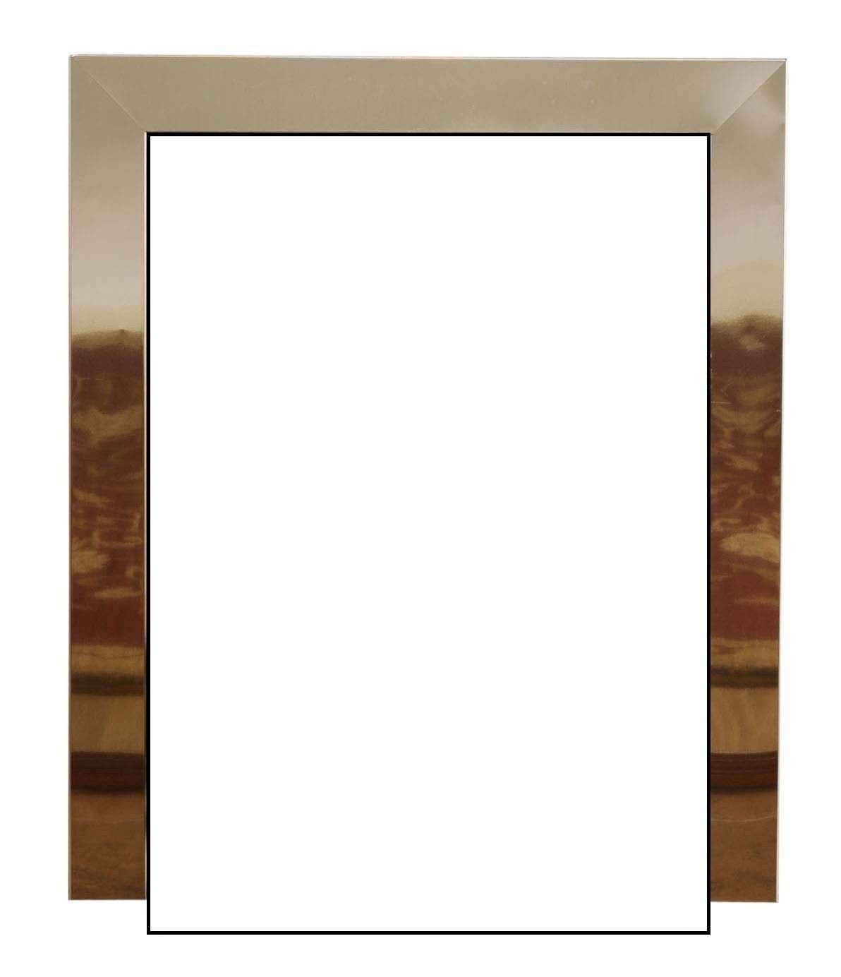 Magnetic Replacement Brass Fire Trim Frame for Gas or Electric Fire Unknown