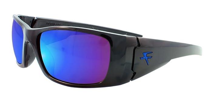 c156dbf9ab3 Fatheadz Eyewear Men s Nitro V2.0 FH-V122-1BL Polarized Wrap Sunglasses