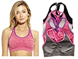 Just Intimates 4P-201007-C-L Sports Bra/Bras (Pack Of 4)