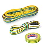 #6: HQAP Trailer Wiring Harness Kit 4-Way Flat Wishbone-Style With 4 Flat Connector for Under or Over 80