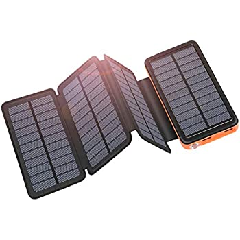 Amazon.com: Hiluckey - Cargador solar portátil: Cell Phones ...