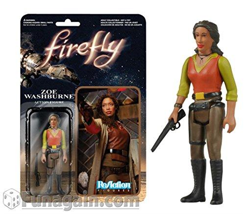 Firefly Zoe Washburne ReAction 3 3/4-Inch Action Figure