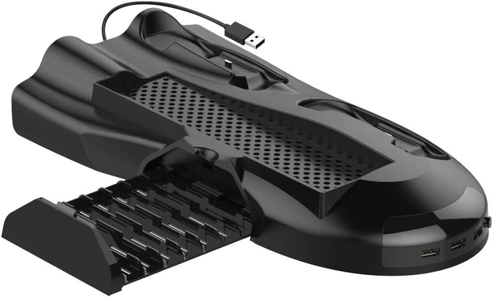 Puroma - Soporte vertical para Xbox One X, ventilador de ...