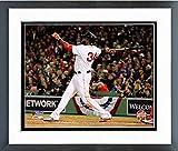 "David Ortiz Boston Red Sox World Series Action Photo (Size: 12.5"" x 15.5"") Framed"