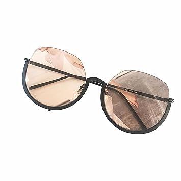 Liuxc Gafas de sol Gafas de Montura Grande Gafas de Sol ...