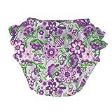 i play. Ultimate Ruffle Swim Diaper, Lavender, Medium
