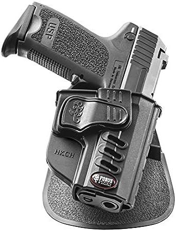 Fobus Táctico oculto transporte retención activa rotación 5cm Policía Cinturón ancho ROTO funda para H&K USP Compact 9mm