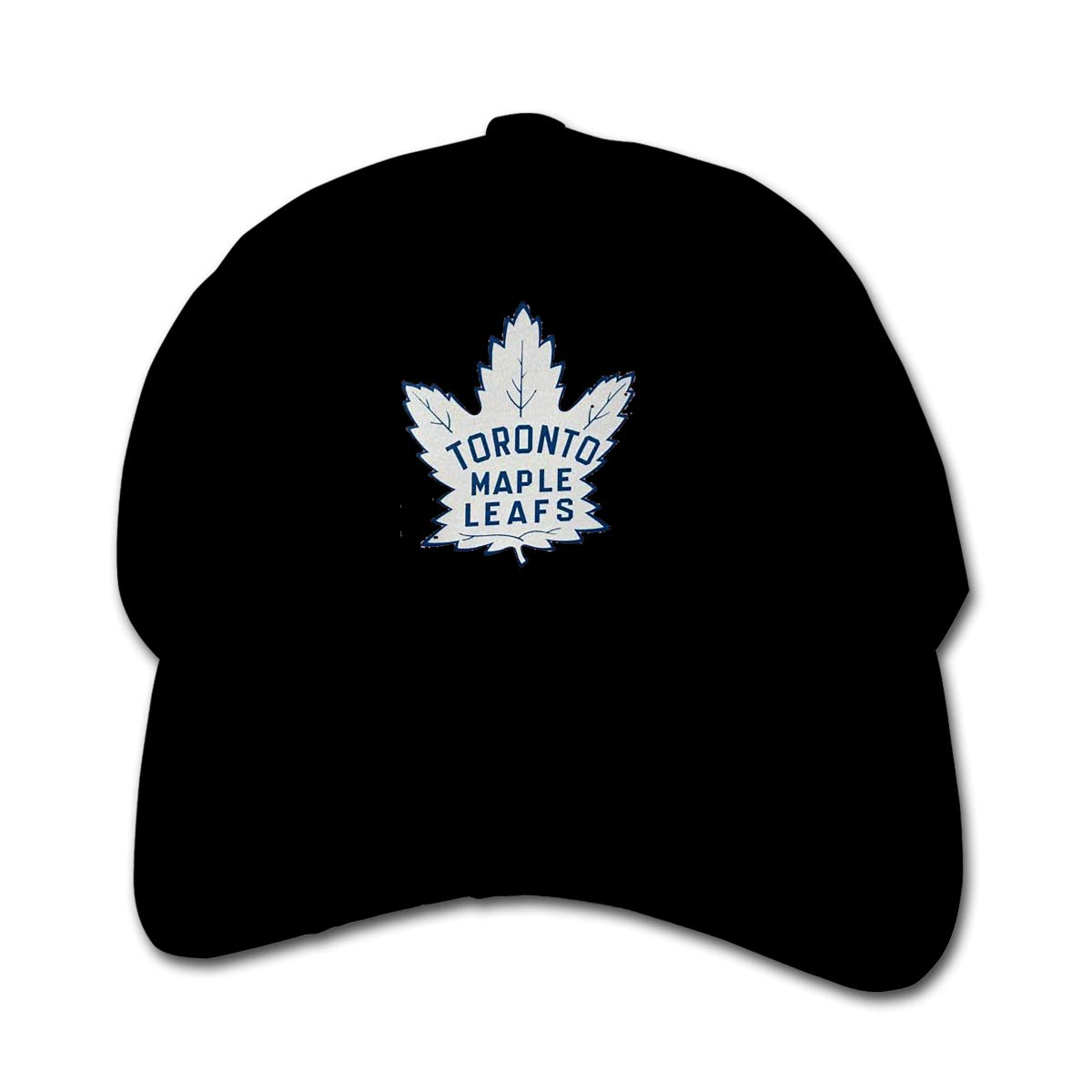 Angkella Hockey-Logo-Toronto-Maple-Leafs Children Toddler Infant Cap Hat Peaked Baseball Hats Black